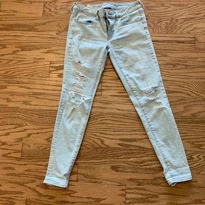American Eagle super stretch size 6 jeans